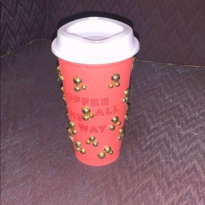 Starbucks bling out coffee cup